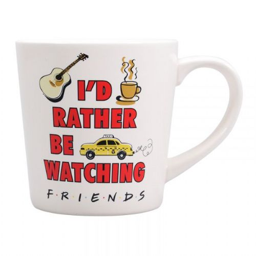 Friends mug - I'd Rather be watching